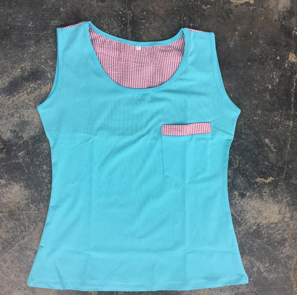 KaiYu OEM Cheap Price little girl model top 100 blanks boutique vest tops mommy and me tee shirt seersucker baby Top