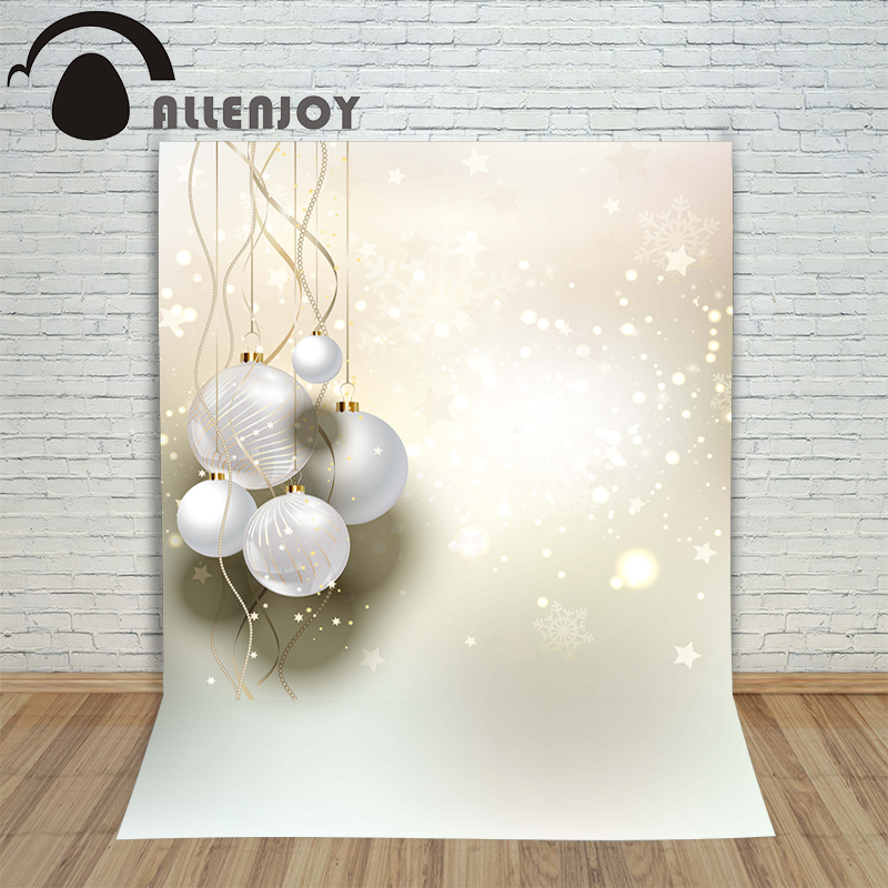 Allenjoy photography backdrops abstract snow winter ball kids photocall vinyl Customize photo props christmas backgrounds allenjoy photography backdrops winter holiday season baubles kids merry customize photo props profession christmas backgrounds