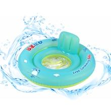 新しい赤ちゃんの膨脹可能な座席フロート水泳プールフロートリング赤ちゃん幼児安全プールシート玩具子供のため
