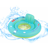 New Baby Seat Floating Inflatable Baby Swim Ring Kids Swimming Pool Accessories Circle Bathing Inflatable Raft Children's Toys