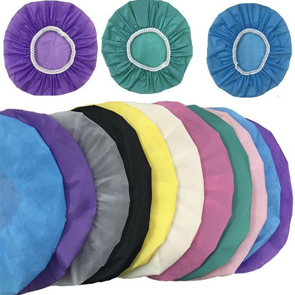 Домашняя водонепроницаемая шапочка для душа, шапочка для плавания, эластичная шапочка для душа для отеля, продукты для ванной, разные цвета,...