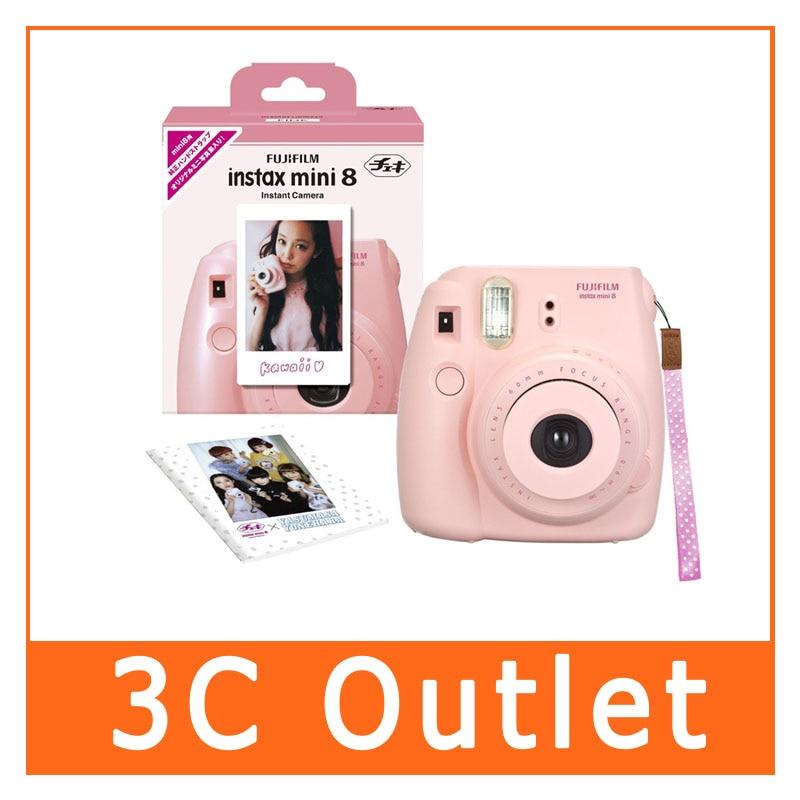 Fujifilm Instax Mini 8 Film Camera Fuji Instant Mini8 Camera(Pink), Christmas/Valentine/Birthday Gift, Free Shipping fujifilm instax mini 8 синий