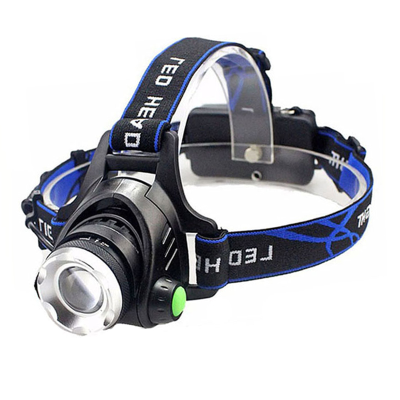 Z20 5000 Lumens Led Headlamp Xml T6 Xm-l2 Headlights Lantern 4 Mode Waterproof Torch Head 18650 Rechargeable Battery Newest