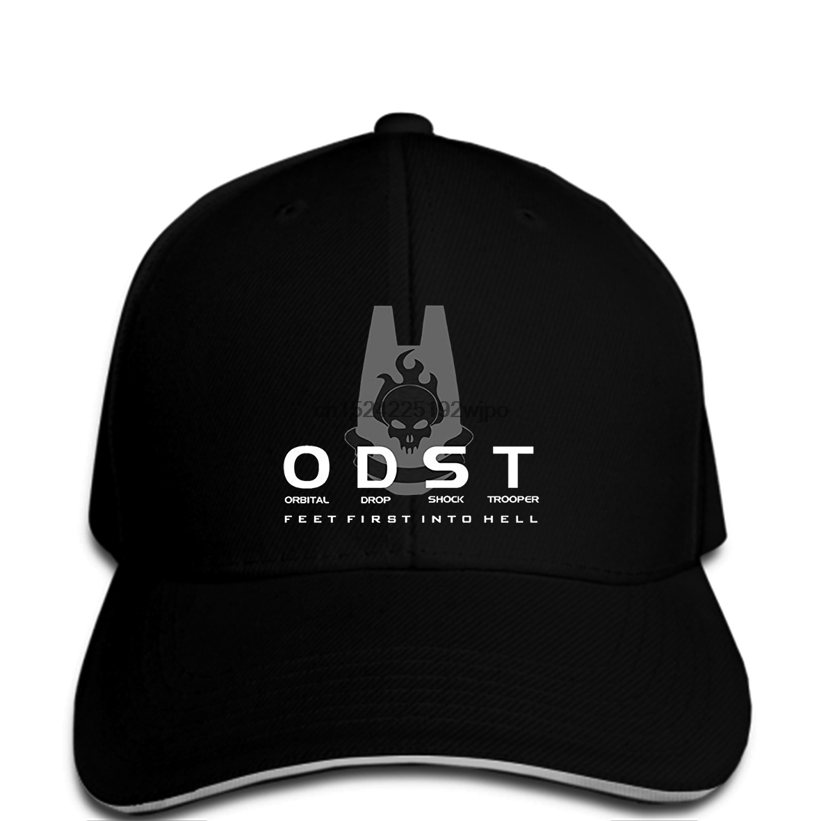 Men Baseball cap Funny Halo Odst Logo And Motto Black funny cap novelty cap women