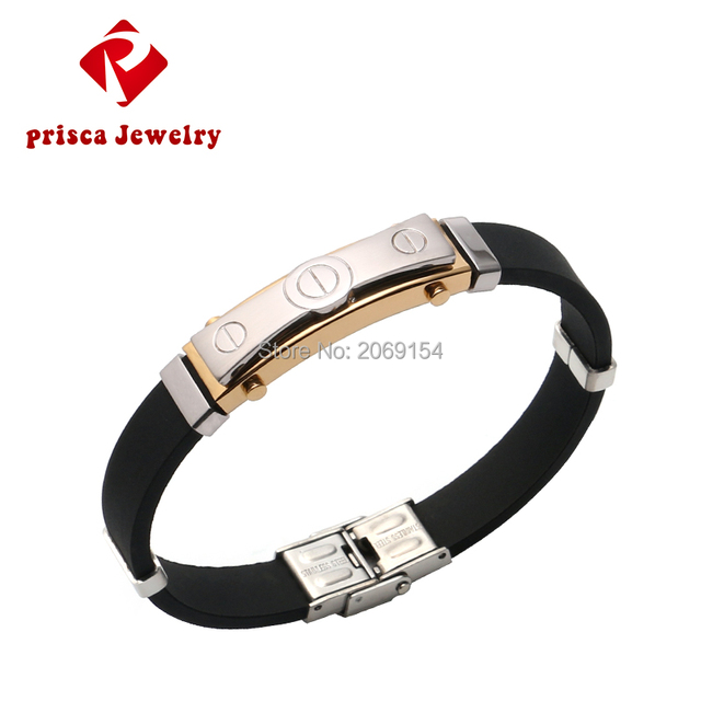 Золотые ювелирные украшения золотой браслет стальной мужской