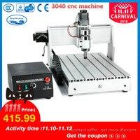 300W/800W/1500W CNC Machine 3040 T D 3 axis CNC Router Engraver Milling Mini CNC 3040 Manufacturer
