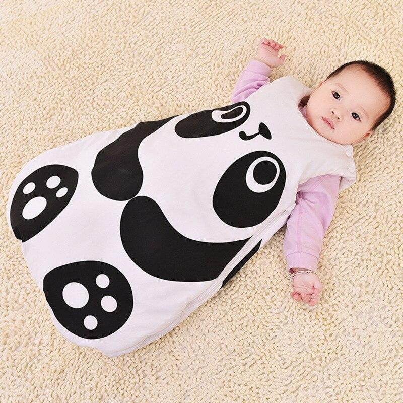 Bebê saco de dormir saco de dormir infantil envelope para recém-nascidos crianças pijama sono recém-nascido saco de sono panda bebê tubarão