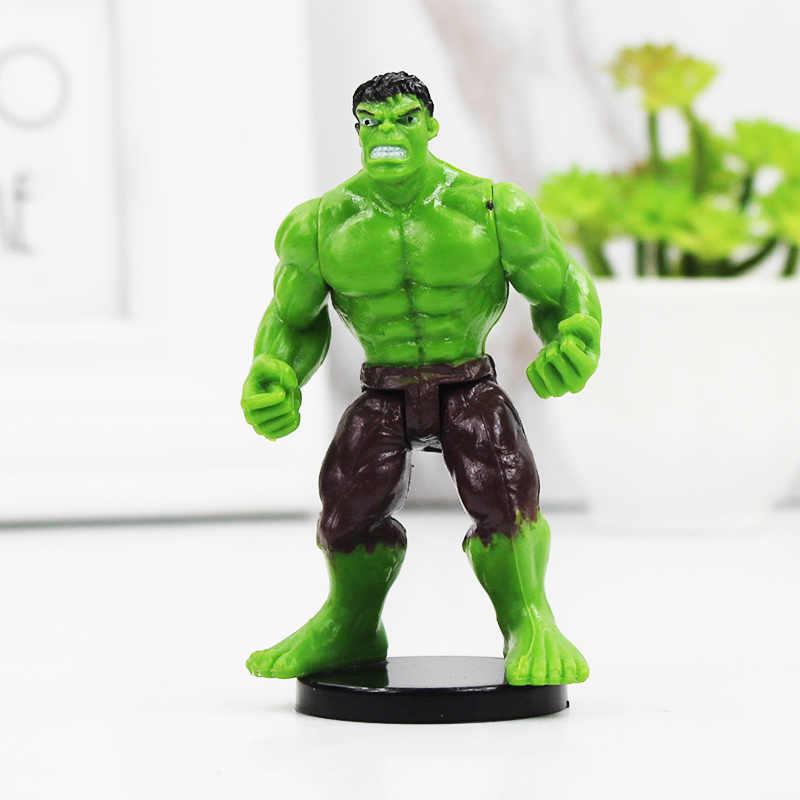 Super-herói super-herói guerra infinito homem de ferro hulk capitão americano superman batman super heróis figuras de ação brinquedos