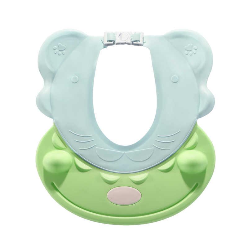 เด็ก Wash Hair Shield Visor โดยตรงหมวกแชมพูหมวกอาบน้ำสำหรับเด็กทารก Care หวานน่ารักฮิปโปสไตล์เด็กหมวก