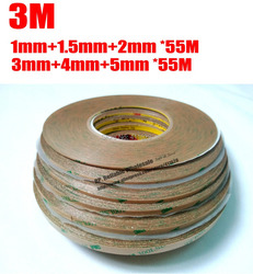 Combined 6 rolls 1mm 1 5mm 2mm 3mm 4mm 5mm 55m original 300lse clear strong adhesion.jpg 250x250