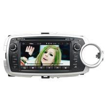 7 Inch Quad Core HD1024*600 Android 5.1 Car DVD Player For Toyota For YARIS 2012-2013 Stereo Multimedia Player Free 8GB MAP
