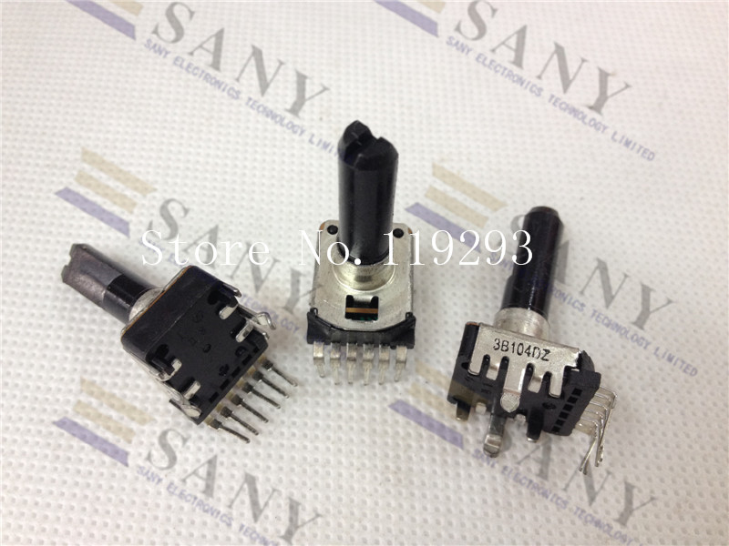 lan lan 6 Feet Original Japanese Empire Noble Rk12-3b104 B100k With Midpoint Handle 25mm Potentiometer--10pcs/lot bella
