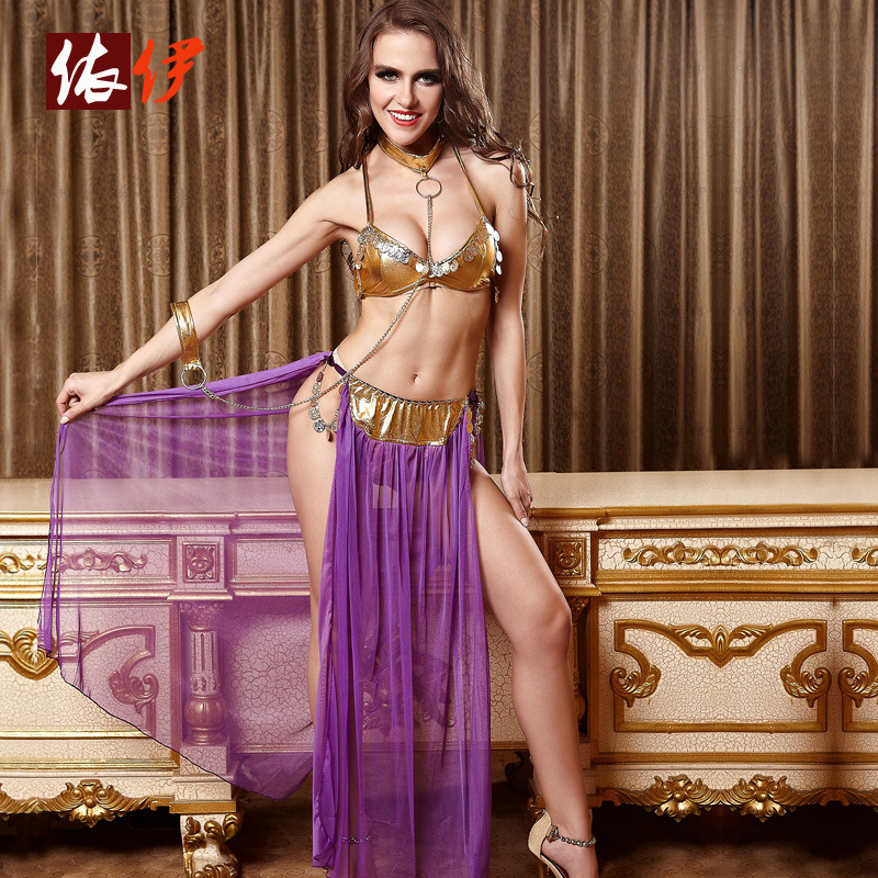 FREE PP Sexy Costumes Sexy Erotic Lingerie Arabic Belly Dance Sexy Game Uniforms Sleepwear Clothing Set Underwear For Women