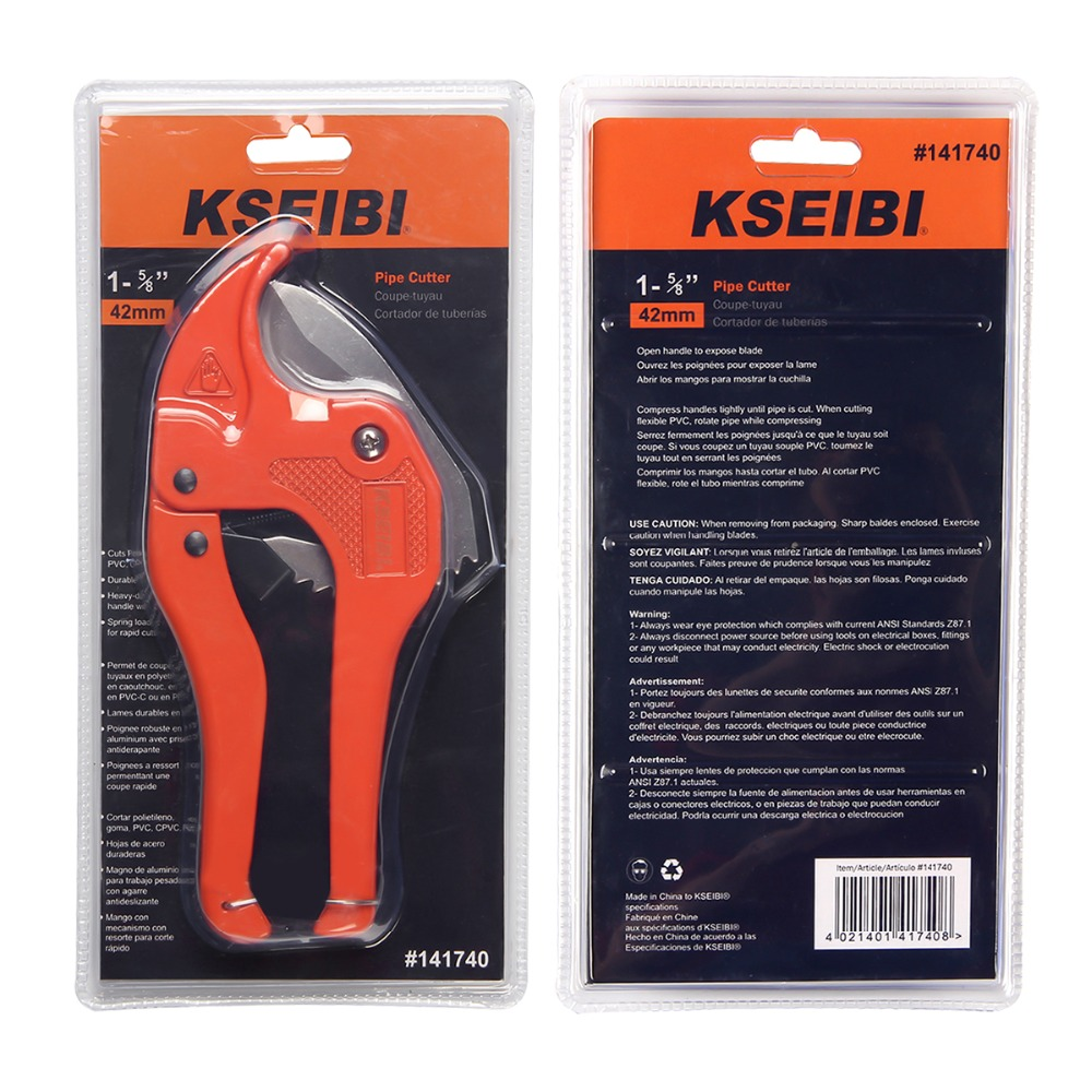 KSEIBI 141740 Ratcheting Plastic PVC Pipe Cutter 1 5/8 Inch Cut-in Scissors  from Tools on Aliexpress com | Alibaba Group
