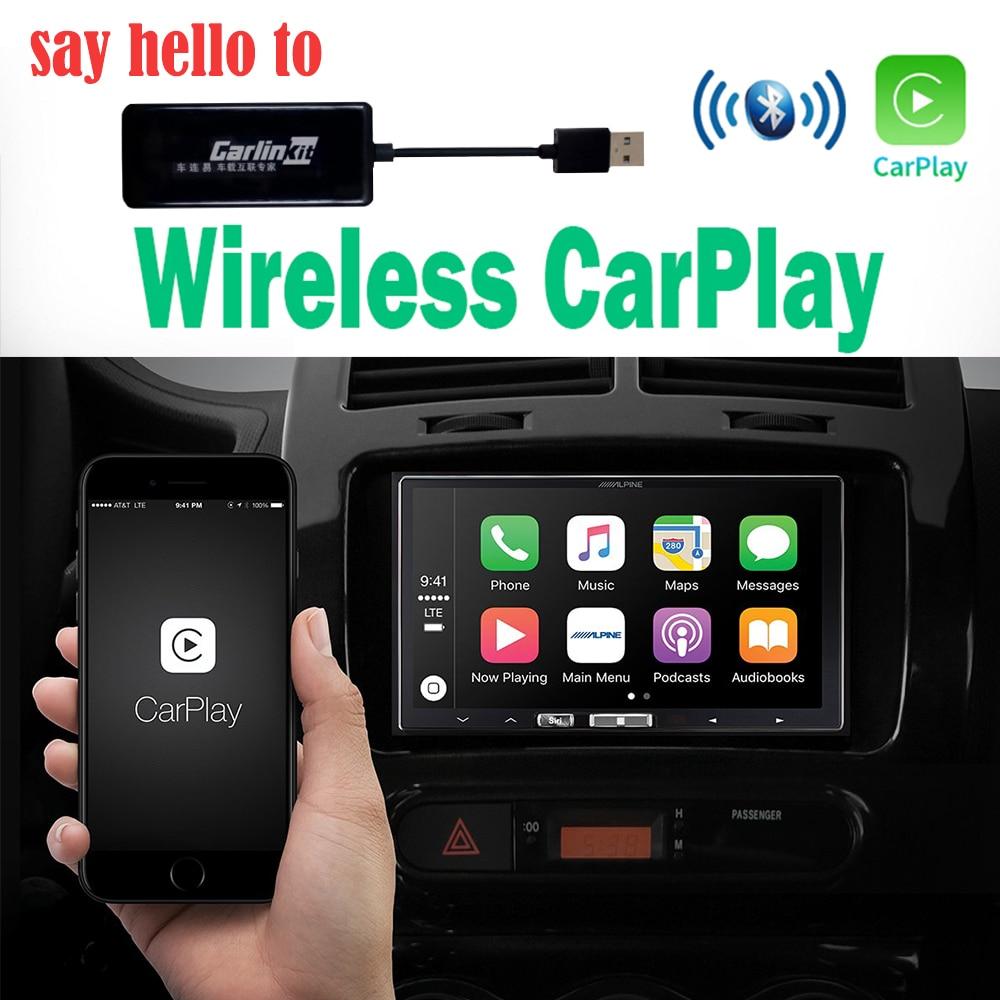 Mini Dongle de CarPlay d'apple d'usb de lien intelligent sans fil de CarPlay pour le système de lecteur de Navigation d'android