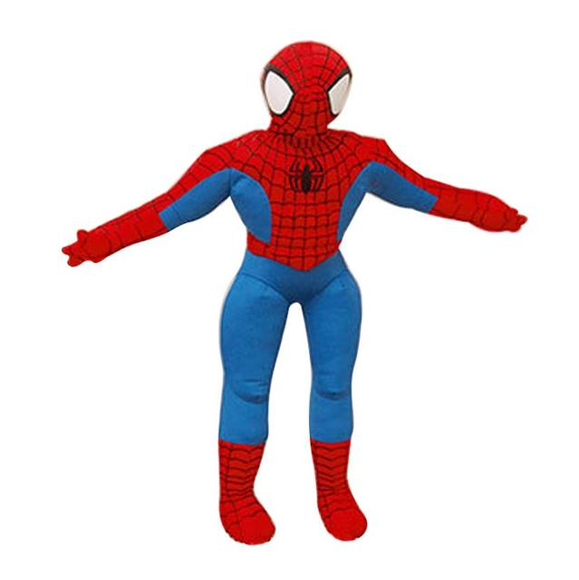 2 Styles 30cm Spiderman Plush Toys Action Figure Collectible Model Toys Cartoon Spider-man Plush Doll for Boys Kids Doll