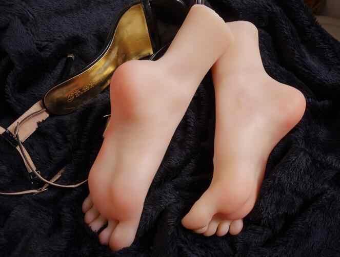 37 実際のシミュレーションセクシーな女性の足マネキン靴撮影ディスプレイ小道具ペディキュア絵の指導ストッキング 1pc A390