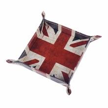 LINKWELL 1 шт. Юнион Джек Великобритания Юнайтед Kindom Национальный флаг из искусственной кожи мужской кошелек для ключей для мелочи коробка для хранения
