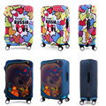 Travel On Road Anti-Dust Luggage Cover Durable Suitcase Covers Protector Protective Trolley Case Cover For 18-32 inch Luggage