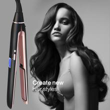 Hair Straightening Irons Flat Iron Ceramic Hair Iron LED Digital Display Professional Straightener Instant Heat Flat Irons цена и фото