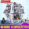 Von Spanien 05063 05035 Stern Plan Wars Todesstern Baustein Ziegel Spielzeug 10188 Kits Kompatibel 75159 Kinder Spielzeug Weihnachten geschenk