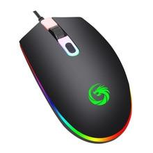 1,35 м USB Проводная мышь 1600 точек/дюйм 3 кнопки оптическая игровая геймерская мышь портативная офисная мышь для ПК ноутбука