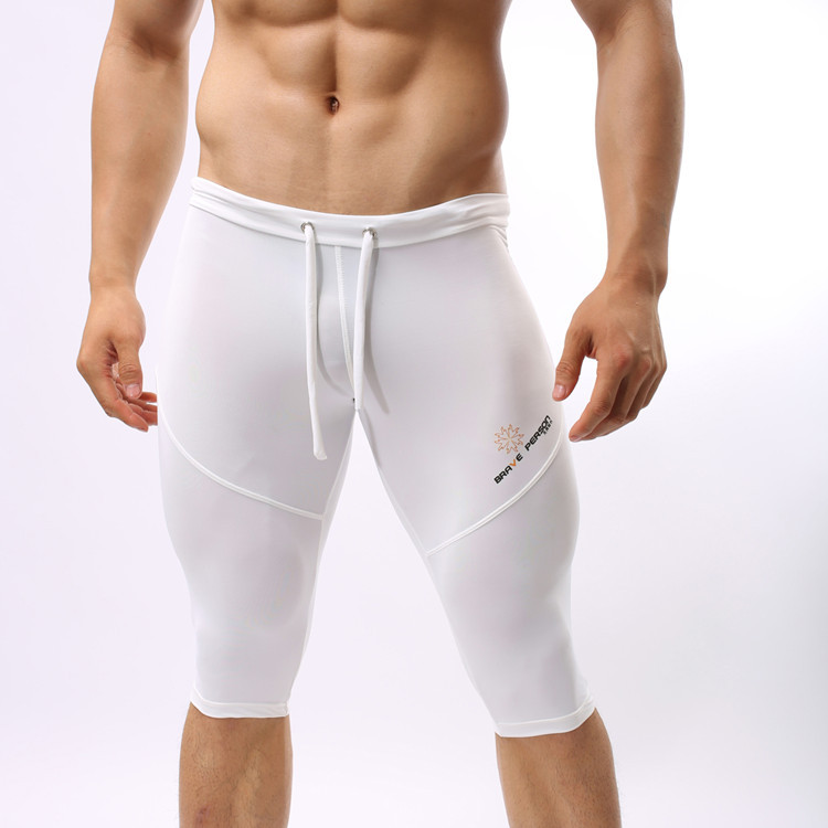 Trunk Boxer Beach-Shorts Brave-Person Sweatpants Bermuda-Board Fitness Workout Long Mens