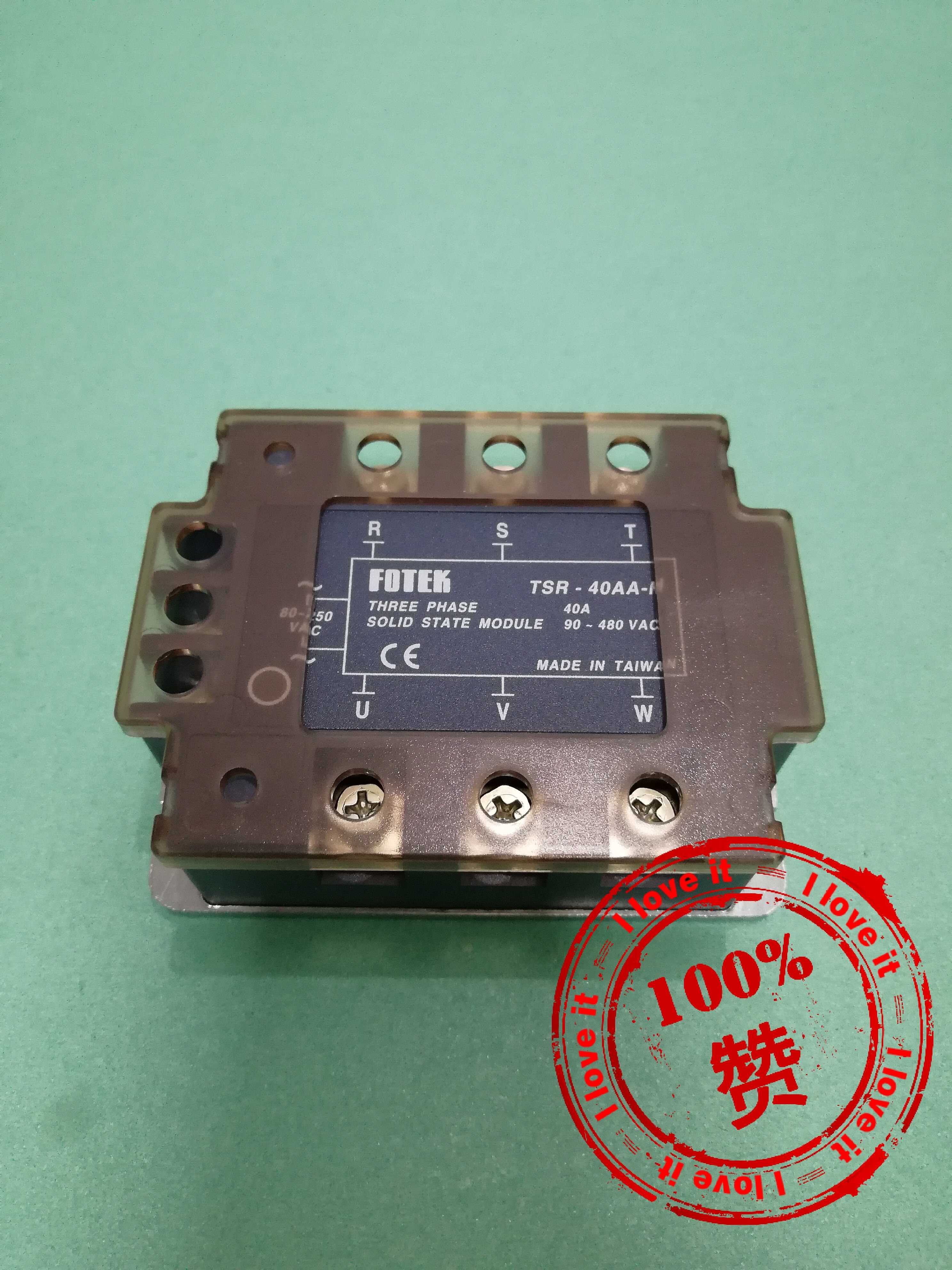 New Original Three-phase Solid-state Relay TSR-40AA-H Will Be Fined 10 For One Fake.