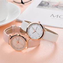 Snowflake Pattern Simple Women Watch Fashion ladies belt New Brand Ultra-thin Clock Quartz Casual Wristwatch Relogio Feminino zhoulianfa t11 fashion merchant pattern belt quartz watch