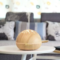 2017 NEW Aromatherapy Aroma Diffuser Ultrasonic Humidifier Air Cleaner LED Lamp 7 Colors Essential Oil Diffuser