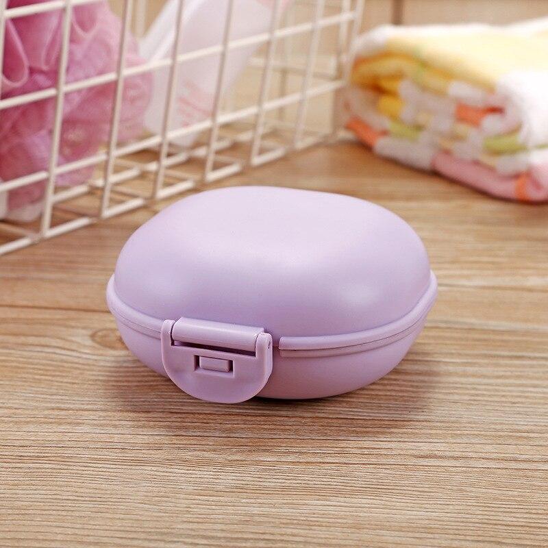 1 шт., чехол для посуды для ванной комнаты, для домашнего душа, путешествий, туризма, держатель, контейнер, мыльница с крышкой, zeepbakje porte savon, держатель для мыла - Цвет: C