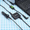 Udoli 90 Вт Мини Универсальный Ноутбук Автомобильное Зарядное Устройство DC Адаптер с 2.4A USB Порт СВЕТОДИОДНЫЕ Индикаторы для TOSHIBA DELL HP SAMSUNG ноутбуки