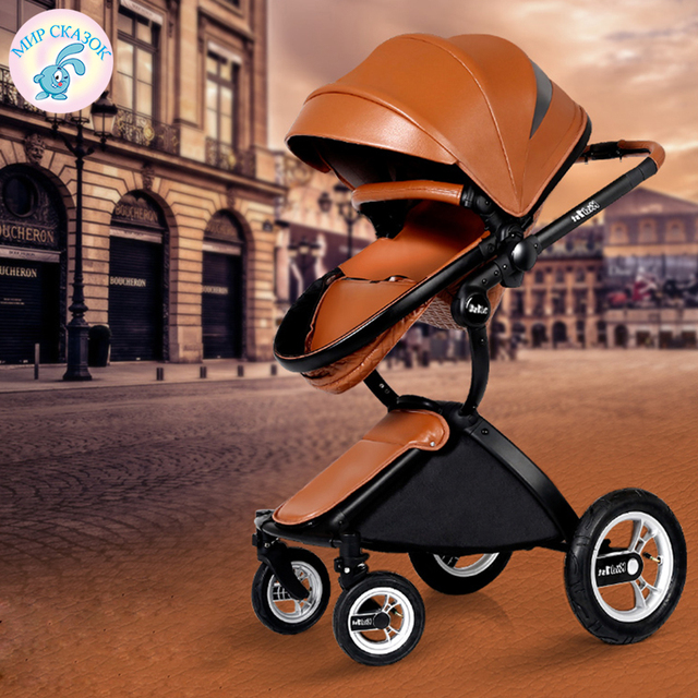 KID1ST Baby strollers baby trolleys high landscape children can lie can be lightly folded