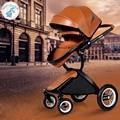 KID1ST carrinhos de Bebê carrinhos de bebê de alta paisagem crianças pode mentir pode ser levemente dobrado