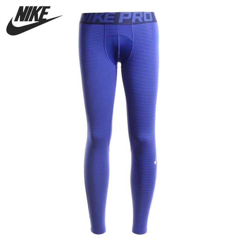 Original New Arrival NIKE PRO WARM Men's Pants Sportswear цена