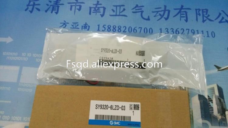 SY9320-6LZD-03 SMC solenoid valve electromagnetic valve pneumatic component smc type pneumatic solenoid valve sy5320 5lzd 01