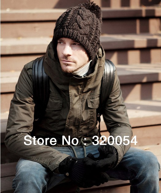 Free shipping (1pcs) 2013 NEW men and woman winter hat/men knitted hat Fashion winter warm cap multicolor wholesale trans men cu multicolor 2013 2014 157