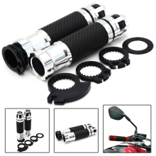 For Kawasaki ZX-9 ZX-9R ZX-500R ZR-10R ZR-6R ZR-750 ZZR1200 motorcycle with 22mm 7/8 handlebar hand grips