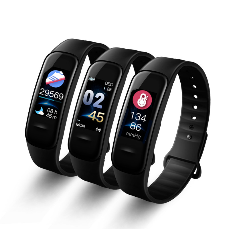 Letike-C1s-Smart-Bracelet-Color-screen-Fitness-Tracker-blood-pressure-Heart-Rate-Monitor-sleep-tracker-Wristband (3)