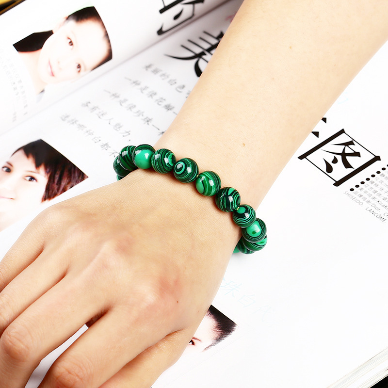 High Quality Fashion Green Malachite Crystal Bracelet 2