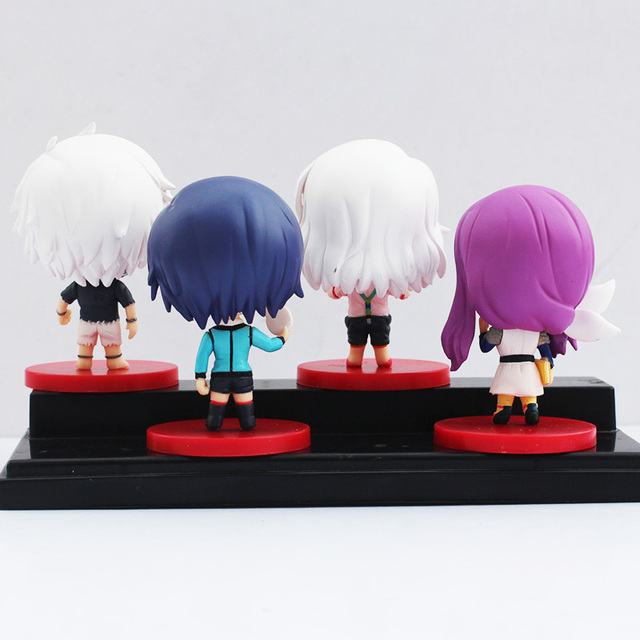 4pcs Set Tokyo Ghoul PVC Action Figure Toy In Box