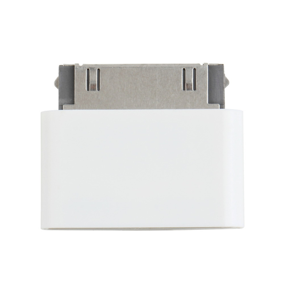все цены на 1pc 8 Pin Female to 30 Pin Male Adapter for iPhone 4S for iPad 3 for iPod Touch 4 / Free 8pin to 30pin adapter White Hot онлайн