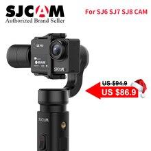 SJCAM Accessories SJCAM SJ8 Series SJ7 STAR SJ6 legend Handheld 3-Axis Gimbal 2 Stabilizer monopod for sj SJ8 plus pro yi 4k cam экшн камера sjcam sj6 legend розовый
