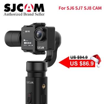 SJCAM Accessories SJCAM SJ8 Series SJ7 STAR SJ6 legend Handheld 3-Axis Gimbal 2 Stabilizer monopod for sj SJ8 plus pro yi 4k cam