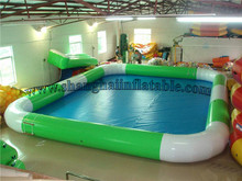 2016 PVC large inflatable pool with high quality inflatable swimming pool for sale