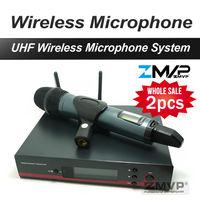 2pcs Lots EW135G3 EW 100 G3 Handheld Wireless Microphone System