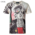 Hot Sale 2016 Summer Fasion Mens Short Sleeve T Shirt European Style V Neck T Shirt Men High Quality Slim Fit Mens Tee Shirt 5XL