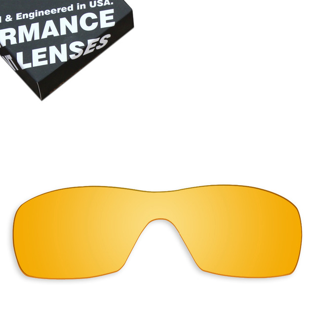 b0c9f9b732 ToughAsNails Replacement Lenses for Oakley Dart Sunglasses Clear Yellow (Lens  Only)