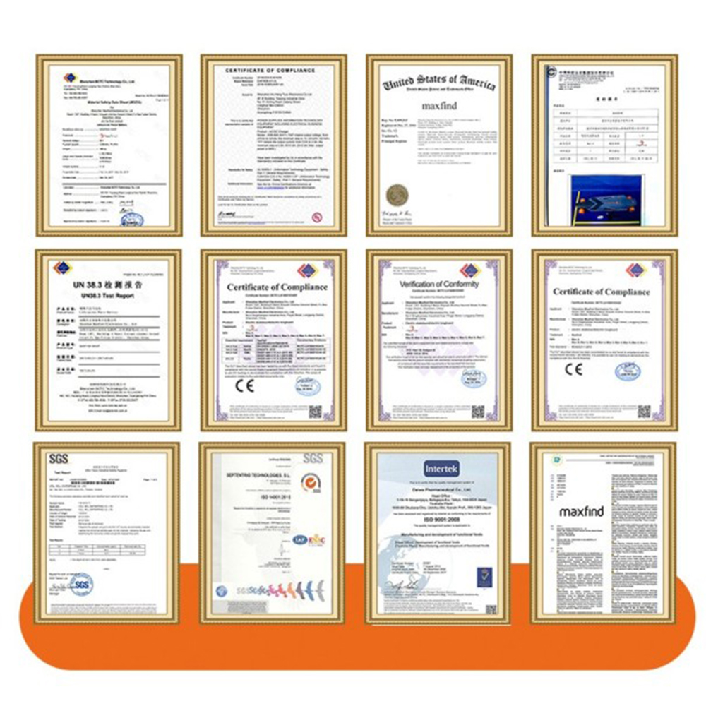 certification of Maxfind