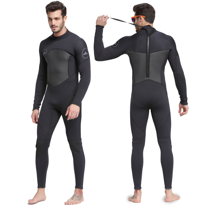1448da45cf Detail Feedback Questions about Sbart New One Piece Neoprene 3mm Diving Suit  Winter Long Sleeve Men Wetsuit Prevent Jellyfish Snorkeling Suit Free  Shipping ...